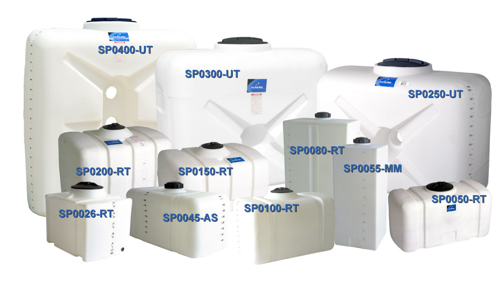 Ace Roto-mold utility tanks