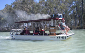 Hypro Piston Pump and Steam Boat, Australia.