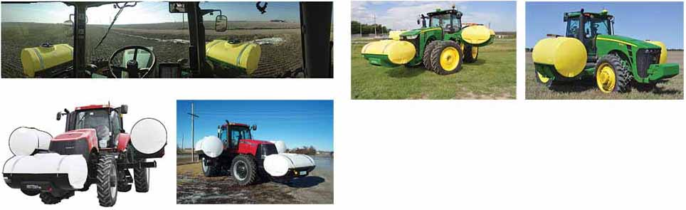 Tractor Tank / Saddle / Strap Kits - Dultmeier Sales