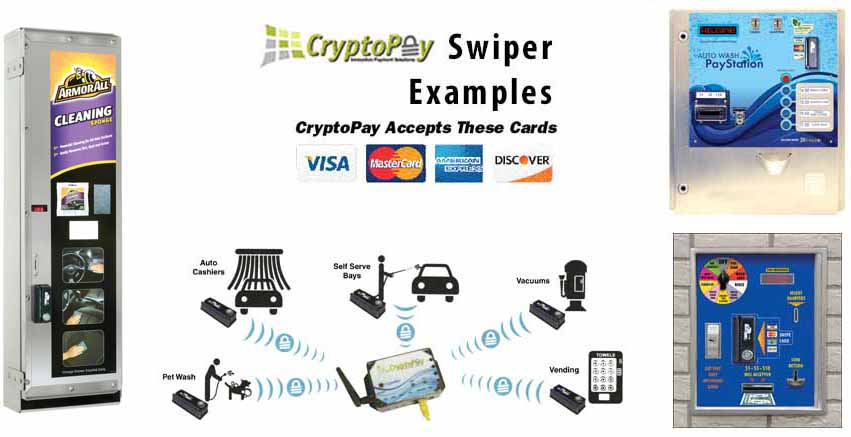Cryptopay Credit Card Swiper ONLY - Dultmeier Sales