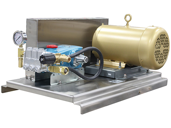 Pulley-Driven High Pressure Pump Units