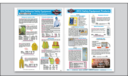 Safety Equipment Flyer