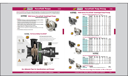 9310 Series ForceField Centrifugal Pumps Flyer