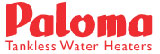 PALOMA tankless water heaters & repair parts, commercial indoor, outdoor and direct vent high efficiency hot water heaters from Dultmeier Sales!
