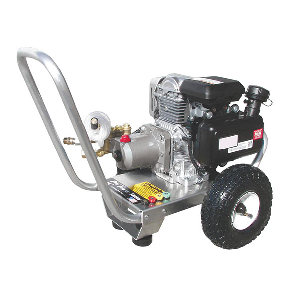 Portable Pressure Washers with AR, General, Comet or Cat Pumps, Electric Motor Drive or Honda Gas Engine Drive.