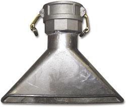 Chandler Equipment DuckBill Nozzle  Aluminum  3   Dultmeier Sales