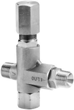 Cat Pumps Regulating Unloader Valve Stainless Steel 3 8