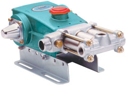 Cat Pumps 390 Piston Pump: MAX 12 0 GPM, 600 PSI, 5 0 HP