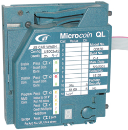 MicroCoin Insert Only for MicroCoin Coin Acceptor - Dultmeier Sales