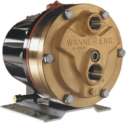 Wanner Engineering D10 Hydra Cell Pump Max 8 0 Gpm 1000
