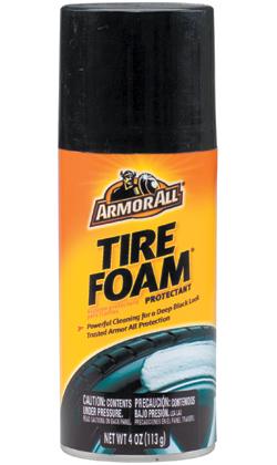 armorall products tire foam  oz    case dultmeier sales