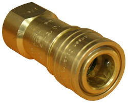 Brass Natural Gas Quick Connect Coupling