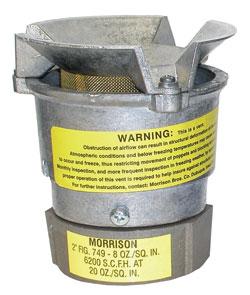 Morrison Bros Pressure Vacuum Vents Dultmeier Sales