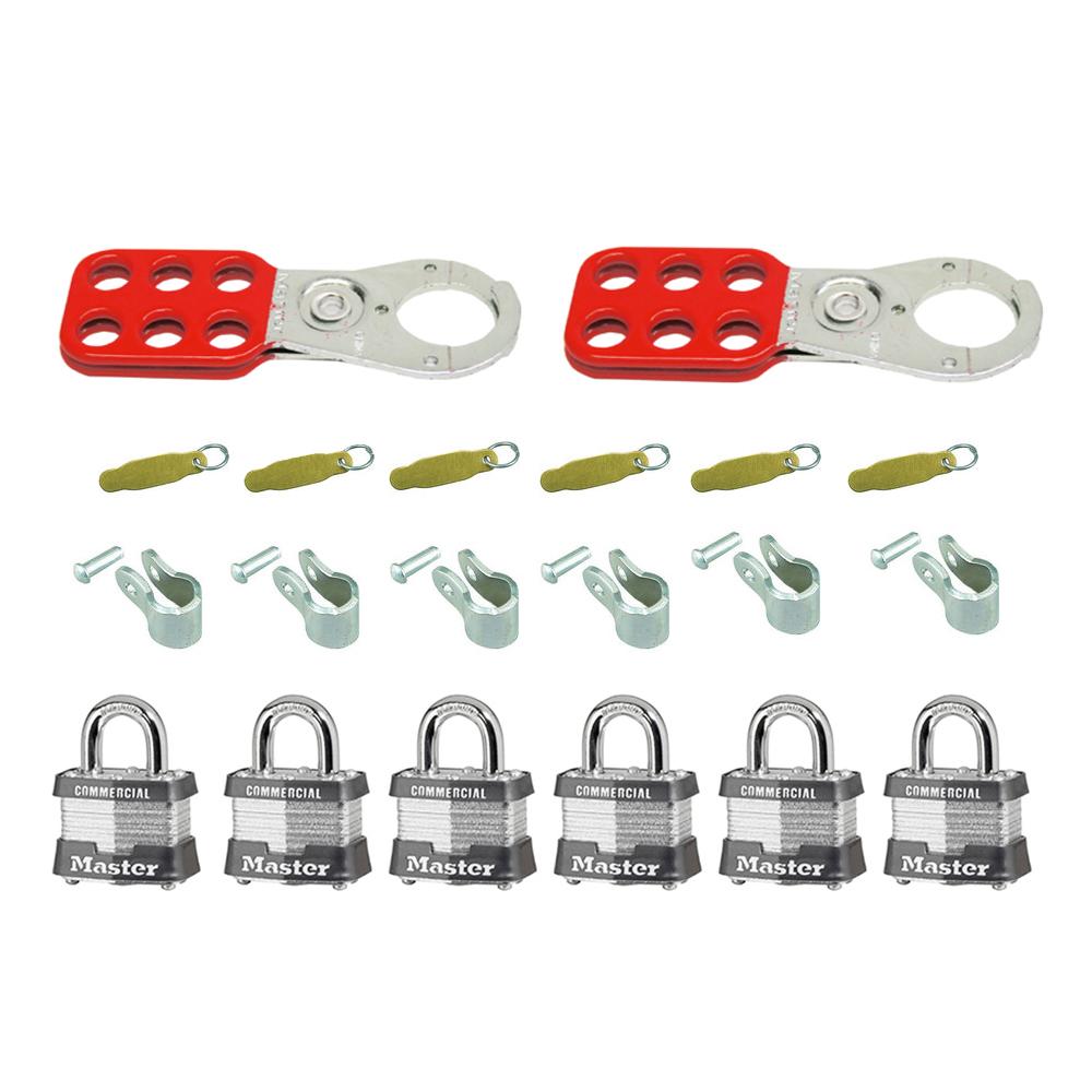 Master Lock Safety Lockout Kit Dultmeier Sales