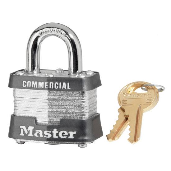 master lock padlock steel base width 1 1 2 keyed different 4 pin dultmeier sales. Black Bedroom Furniture Sets. Home Design Ideas
