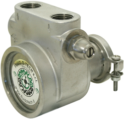 Rotoflow Rotary Vane Pump, Stainless Steel (V-Band): 4 4 GPM