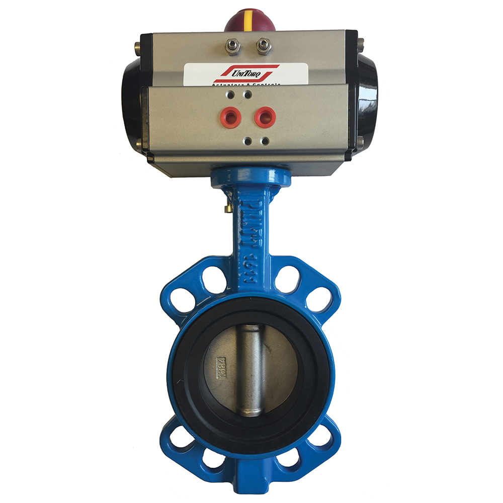 Spring Is In Air Cranes Are Returning >> Pratt Valves Butterfly Valve Air Actuated 4 Spring Return