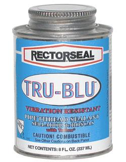 Rectorseal Pipe Thread Sealant Quot Tru Blu Quot 1 2 Pint