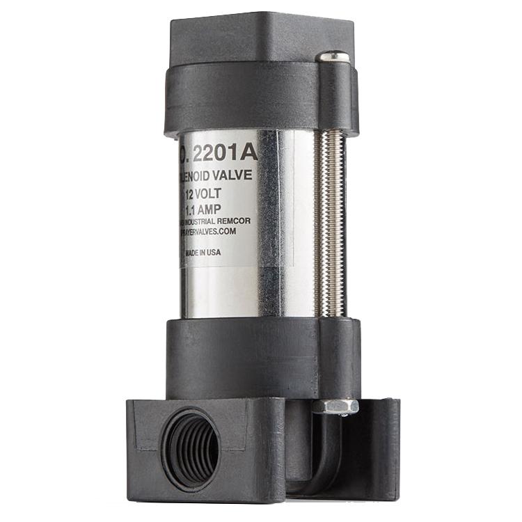 1 4 Npt >> Texas Industrial Remcor 3-Way 12 Volt DC Solenoid Valve, 1/4'' NPT: Weather Pak - Dultmeier Sales