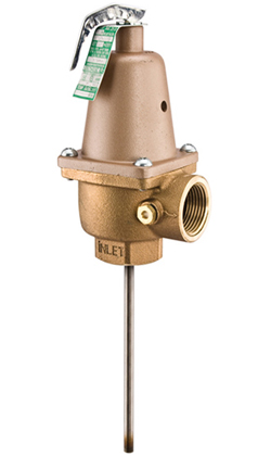 Watts Regulator Pressure Amp Temperature Relief Valve 1