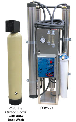 Spot Free Rinse/Reverse Osmosis Systems for Demineralized Water Production
