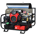 New! Gas Engine Pressure Washer Belt Driven, General Pump, Skid Model
