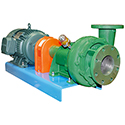 15 - 40 HP Cast Iron Centrifugal Pump / Motor Units, Straight