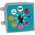 Manual Control Box for Dog Washing System