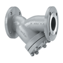 Keckley Flanged Y-Strainer, Carbon Steel.