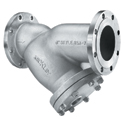 Keckley Flanged Y-Strainers, Cast 316 Stainless.