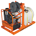 Easy-Kleen Hot Water Pick Up Skid Units