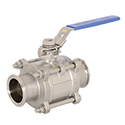 Stainless 3 Piece/Three Piece Ball Valves