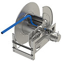New! Hose Reels For Corrosive Chemicals from Hannay Reels