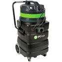 Wet / Dry Shop Vacuum, 24 Gallon Poly Tank, (2) 1.5 HP Motors, 202 CFM, 87