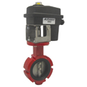 KZCO 12 Volt Butterfly Valves, Air Actuated