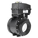 New! Actuated Ball Valve, Tru-Torq Series, Flanged from KZ Valves