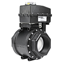 New! Actuated Ball Valve, Tru-Torq Series, Threaded from KZ Valves