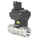 New! 12 Volt On / Off Electric ZIPValve, Deutsch Receptacle from KZValves