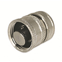New! Garden Hose Fitting with Check Valve