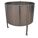 Chemical Weigh Tanks, Stainless: 100 to 250 Gallon