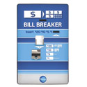 Bill Breaker, Rear Load Changes Out 1 Bill Denomination & 1 Coin