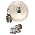 New! Mill Hose Assemblies, Aluminun C and E Fittings