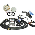 Scienco DD6 Diaphragm Pump/Motor/Meter Kits, Tank Mount