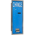 Rear Load Bill Changer, Steel / Stainless Steel, 3200 Coin Capacity, Single Hopper (Pyramid)