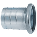 New! Sphere Lock Coupling, Bauer-Style, Female Socket x Hosebarb, Type B-A