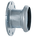 New! Sphere Lock Coupling, Bauer-Style, Female Socket x Flange