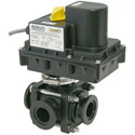12 Volt 3-Way Ball Valves
