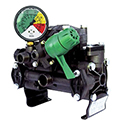 Diaphragm Pump, 4.5 GPM, 275 PSI, 3/4 Solid Shaft