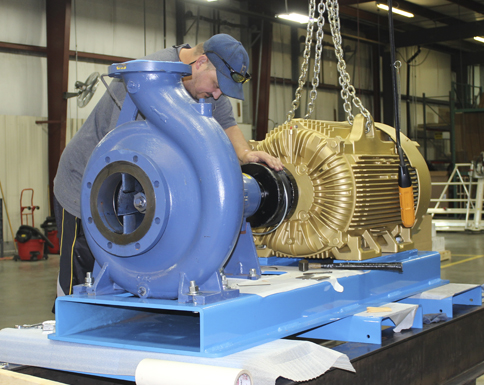 Dultmeier Manufacturing, Custom Built Pump Systems.