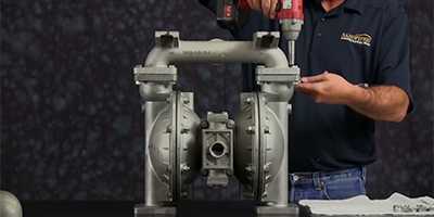 How to Install an Air End Kit on Diaphragm Pumps